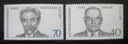Poštovní známky Nìmecko 1975 Osobnosti Mi# 830,832
