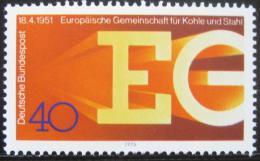 Poštovní známka Nìmecko 1976 EG, 25. výroèí Mi# 880