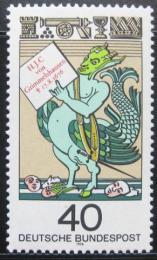 Poštovní známka Nìmecko 1976 Simplicissimus Teutsch Mi# 902