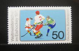 Poštovní známka Nìmecko 1975 MS v ledním hokeji Mi# 835