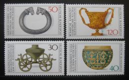 Poštovní známky Nìmecko 1976 Archeologické nálezy Mi# 897-900