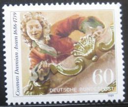 Poštovní známka Nìmecko 1989 Cosmas Damian Asam, malíø Mi# 1420