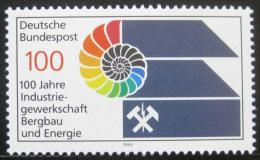 Poštovní známka Nìmecko 1989 Odbory tìžaøù Mi# 1436