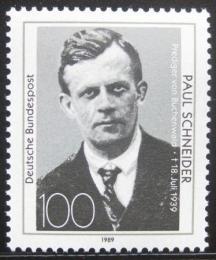 Poštovní známka Nìmecko 1989 Paul Schneider Mi# 1431
