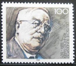 Poštovní známka Nìmecko 1989 Reinhold Mayer, politik Mi# 1440