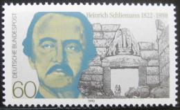 Poštovní známka Nìmecko 1990 Heinrich Schlieman, archeolog Mi# 1480