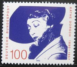 Poštovní známka Nìmecko 1990 Kathe Dorsch, hereèka Mi# 1483