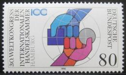 Poštovní známka Nìmecko 1990 Mezinárodní obchodní komora Mi# 1471