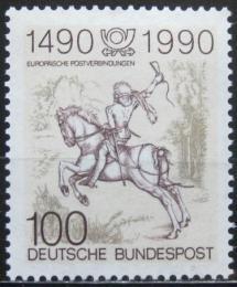 Poštovní známka Nìmecko 1990 Mladý doruèovatel, Albrecht Dürer Mi# 1445