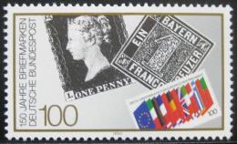 Poštovní známka Nìmecko 1990 První poštovní známka Mi# 1479