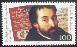 Poštovní známka Nìmecko 1991 Friedrich Langenfeld, básník Mi# 1503