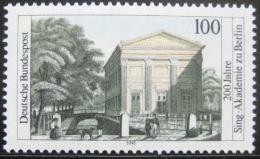 Poštovní známka Nìmecko 1991 Pìvecká akademie Mi# 1520