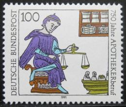 Poštovní známka Nìmecko 1991 Lékárník Mi# 1490