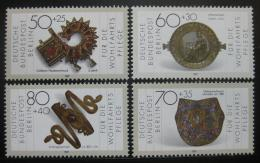 Poštovní známky Západní Berlín 1987 Artefakty Mi# 789-92 Kat 6.50€