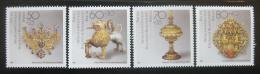 Poštovní známky Západní Berlín 1988 Artefakty Mi# 818-21 Kat 6€