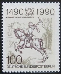 Poštovní známka Západní Berlín 1990 Mladý kurýr, Albrecht Dürer Mi# 860