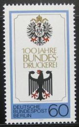 Poštovní známka Západní Berlín 1979 Národní tiskaøská kanceláø Mi# 598