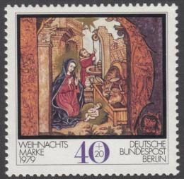 Poštovní známka Západní Berlín 1979 Vánoce Mi# 613