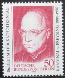 Poštovní známka Západní Berlín 1980 Kardinál Count Preysing Mi# 624