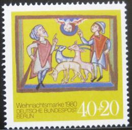 Poštovní známka Západní Berlín 1980 Vánoce Mi# 633