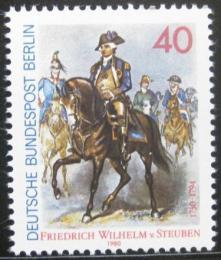 Poštovní známka Západní Berlín 1980 Friedrich Wilhelm von Steuben Mi# 628