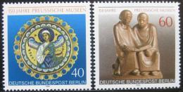 Poštovní známky Západní Berlín 1980 Pruské muzeum Mi# 625-26