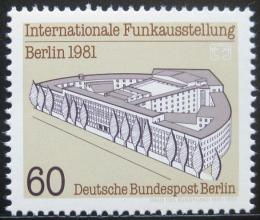 Poštovní známka Západní Berlín 1981 Výstava telekomunikace Mi# 649