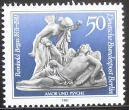 Poštovní známka Západní Berlín 1981 Umìní, Begas Mi# 647