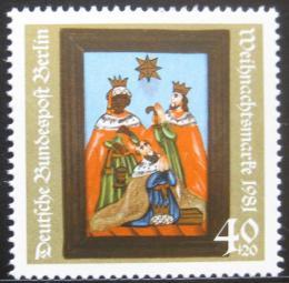 Poštovní známka Západní Berlín 1981 Vánoce Mi# 658
