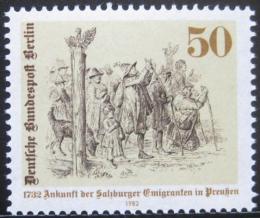 Poštovní známka Západní Berlín 1982 Emigrace Mi# 667