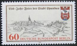 Poštovní známka Západní Berlín 1982 Spandau, 750. výroèí Mi# 659