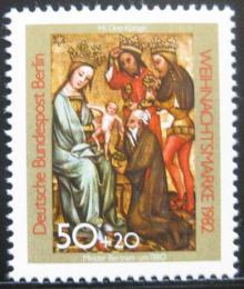 Poštovní známka Západní Berlín 1982 Vánoce Mi# 688