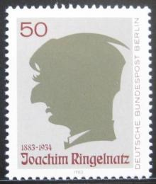 Poštovní známka Západní Berlín 1983 J. Ringelnatz, malíø a spisovatel Mi# 701