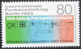 Poštovní známka Západní Berlín 1983 Výstava rádií Mi# 702