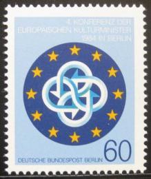 Poštovní známka Západní Berlín 1984 Konference ministrù kultury Mi# 721