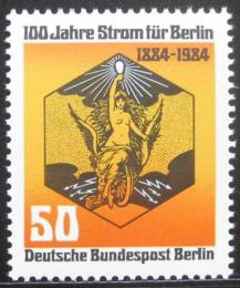 Poštovní známka Západní Berlín 1984 Symbol elektøiny Mi# 720