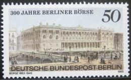 Poštovní známka Západní Berlín 1985 Berlínská burza Mi# 740