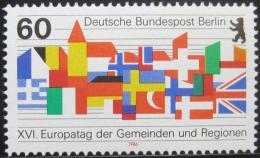 Poštovní známka Západní Berlín 1986 Vlajky Mi# 758