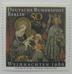 Poštovní známka Západní Berlín 1986 Vánoce Mi# 769