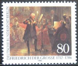 Poštovní známka Západní Berlín 1986 Umìní, Adolph von Menzel Mi# 764