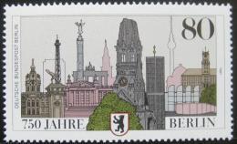 Poštovní známka Západní Berlín 1987 Berlín, 750. výroèí Mi# 776