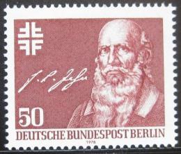Poštovní známka Západní Berlín 1978 Friedrich Jahn Mi# 570