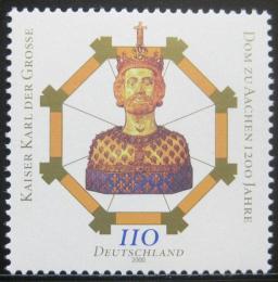 Poštovní známka Nìmecko 2000 Aachenská katedrála, 1200. výroèí Mi# 2088