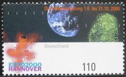 Poštovní známka Nìmecko 2000 EXPO výstava Mi# 2130