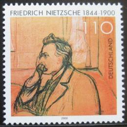 Poštovní známka Nìmecko 2000 Friedrich Nietzsche, filozof Mi# 2131