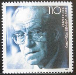 Poštovní známka Nìmecko 2000 Herbert Wehner, politik Mi# 2092