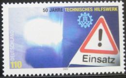Poštovní známka Nìmecko 2000 Pomoc pøi katastrofách Mi# 2125