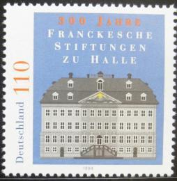 Poštovní známka Nìmecko 1998 Charitativní instituce Mi# 2011