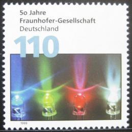 Poštovní známka Nìmecko 1999 Spoleènost Fraunhofer Mi# 2038