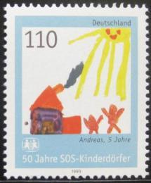 Poštovní známka Nìmecko 1999 SOS dìtská vesnièka Mi# 2062